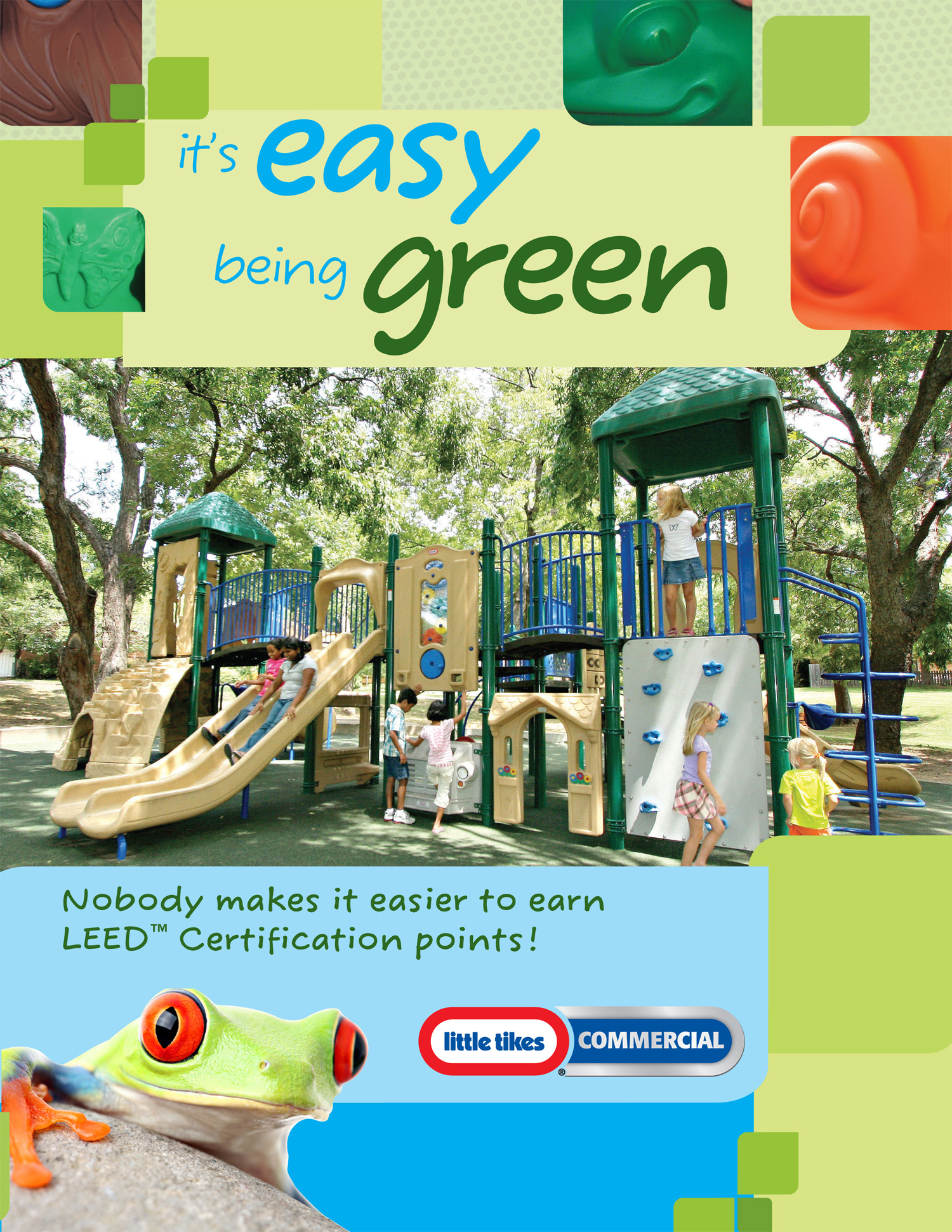Little Tikes Commercial brochure