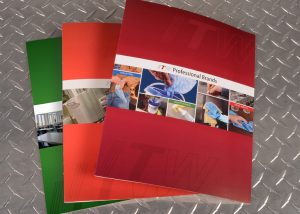 ITW Professional Brands print material