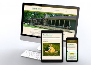 Trimble Creek Lodge website preview