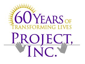 Project 60 year logo