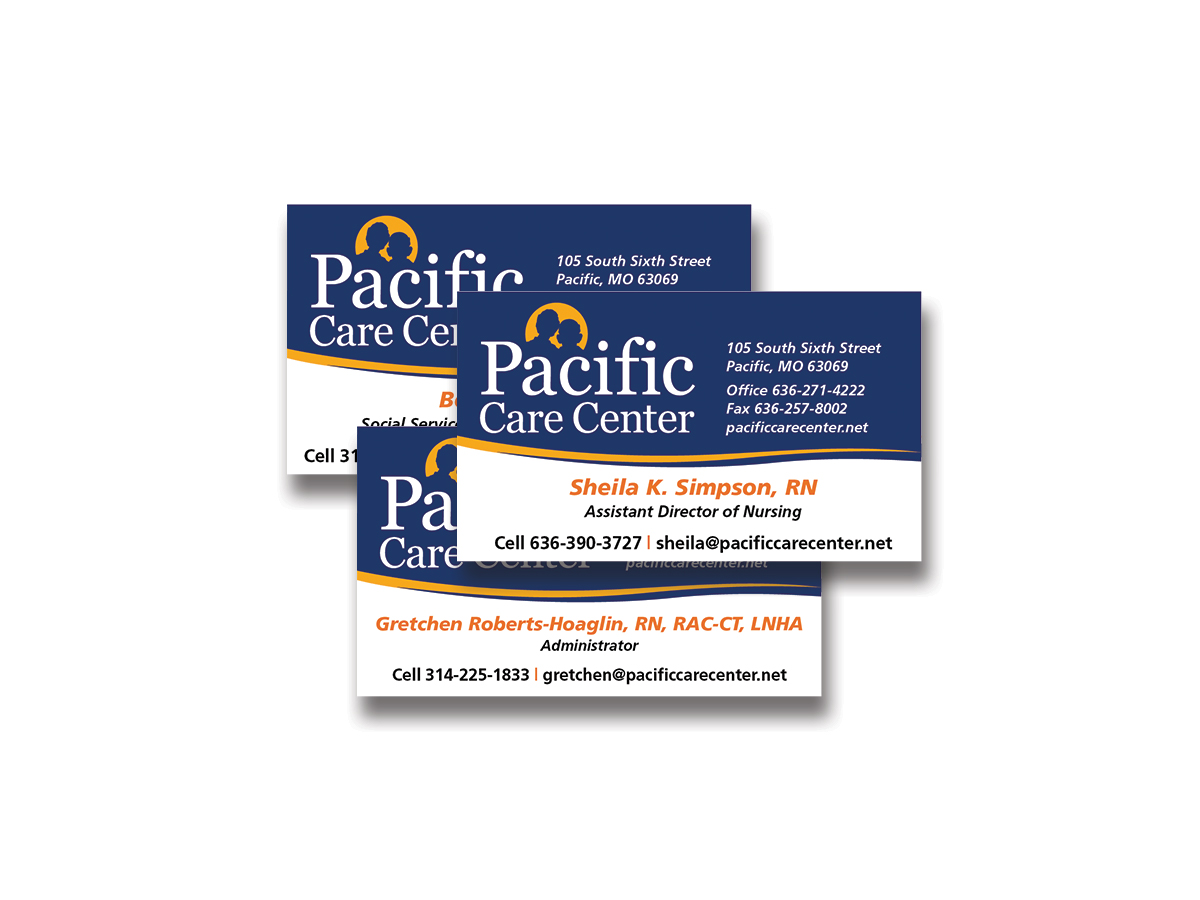 Pacific Care Rack Cards